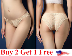 6 colors ☆USA☆ Sexy Women Lace Thong G-string Panties Lingerie Underwear  T-back