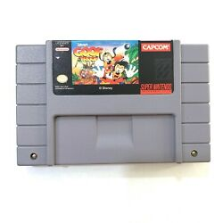 Disney's Goof Troop Super Nintendo Snes Game Tested + Working And Authentic