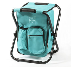 One Savvy Girl Ultralight Backpack Cooler Chair Compact Lightweight and Por... $59.38