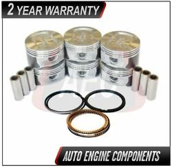 Pistons And Piston Rings Fits Ford E150 E250 F150 Freestar 4.2l - Size 040