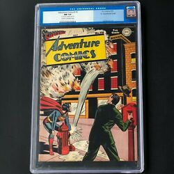Adventure Comics 118 Dc 1947 💥 Cgc 9.4 And Double Cover 💥 Only 1 Higher