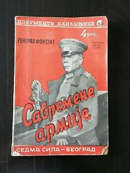 Serbian Sedma Sila - General Hans Von Sekt And Charles De Gaulle On Cover - Wwii