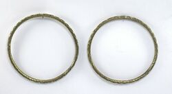 Indian Tribal Women Old Anklets Cum Arm Bangles Antique Collectible. G18-65 Us