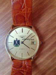 Longines For Iraq Air Force/saddam Hussein 18k/750 Gold Automatic Cal.994.1