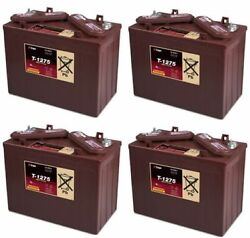 Replacement Battery For Trojan T1275-4-pack 48v