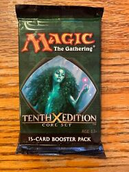 10th Edition X 1 Game Booster Packs Rg 4rcards