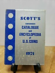 Scott S. Comprehensive Catalog And Encyclopedia Of Us Coins 1971.fc33-1-k