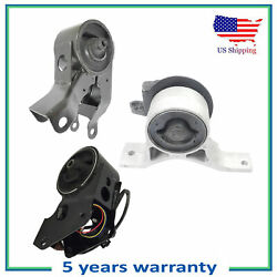 Front And Rear And Front Right Engine Motor Mount For 03-07 Nissan Murano 3.5l 4wd