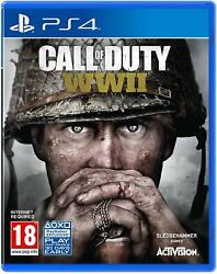 Call Of Duty Wwii Playstation 4 Ps4 Ps5 Ww2 World War 2 Activision Shooter New