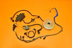90-95 1990 Dr250 Dr 250 Electrical System Cdi Ignition Stator Wiring Flywheel