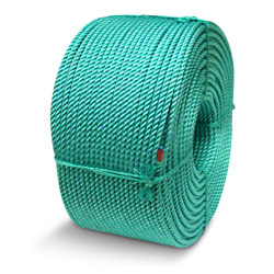 Cwc Floating Blue Steel Crab Rope - 9/16 X 1200and039 Teal W/ Tracer