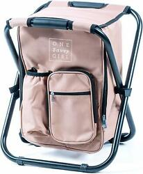 One Savvy Girl Ultralight Backpack Cooler Chair Compact Lightweight Portable $61.99