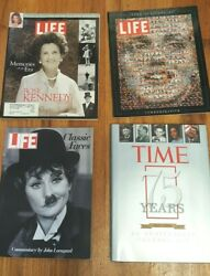 Life Magazine Collectibles 4 60th 75th Anniv Books Rose Kennedy Classic Faces