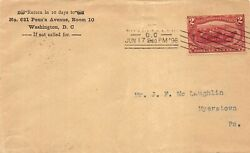 286 2c Trans-mississippi First Day Cover June 17 1898 [832451]