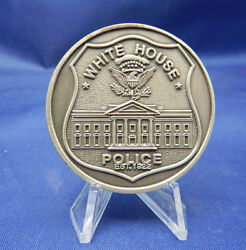 The White House Police Est. 1922 Solid Pewter 1.75 White House Challenge Coin