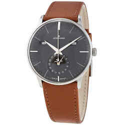 Junghans Meister Kalendar Automatic Moon Phase Grey Dial Menand039s Watch 027/4906.01