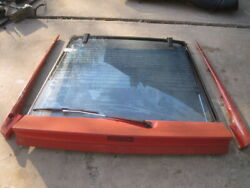 Chrysler Conquest,mitsubishi Starion Rear Hatch Glass W/spoilers 1987