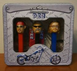 Pez Candy Roll Dispenser Orange County Choppers Collector's Set Of 3 Pez - Nib