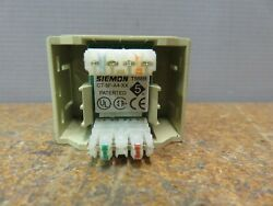 Siemon Company Ct-5f-a4-20b Port Cat5e Jack Couplers Receptacle Lot Of 64 New.