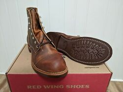 Red Wing Heritage Iron Ranger 8085 7D Copper Rough & Tough factory 2nds