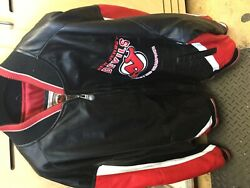 New Jersey Devils 2000 Stanley Cup Champs Jacket Size Xxl Good Condition-used