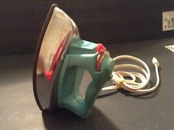 Vintage Wolverine Childrens Toy Iron Plastic And Tin Warms Up