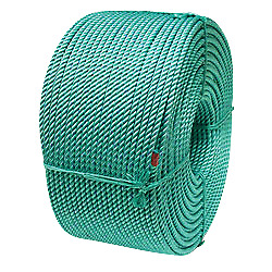 Cwc Leaded Blue Steel Fishing Rope - 3/8 X 1800and039 Teal W/ Tracer