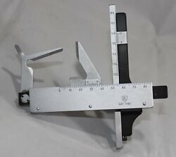 Ao American Optical 1580 Slide Stage Assembly Micrometer For Microscope Made In