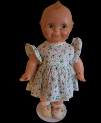 Adorable 13andrdquo Vintage Collectible Kewpie Doll Composition From The 1920-30andrsquos