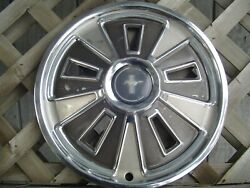 One 1966 66 Ford Mustang Hubcap Wheelcover Center Cap Antique Vintage Classic