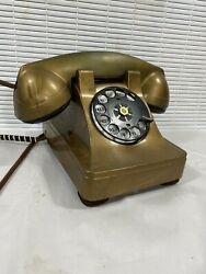 Antique Art Deco Western Electric Telephone With Aftermarket Decorative Cover