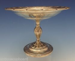 Old Colonial By Towle Sterling Silver Compote Raised 7 1/2 15222 0492