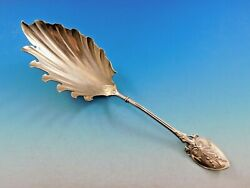 Lily Aka 88 By Gorham Sterling Silver Macaroni Server Gold Washed 9 3/4