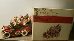 Fitz And Floyd Holiday Musicals Collectible Figurines Collection