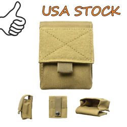 Multipurpose Tactical Pouch Molle Pouch Utility Bag Portable Nylon Small Bag USA $5.99