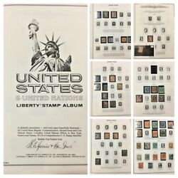 Us Stamp Collection From Mid 1850's To 1940's. Used, Mh And Mnh. Cv 9000+