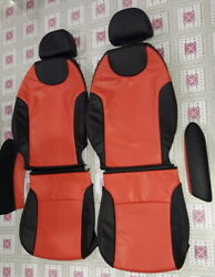 2002-2006 Mini Cooper Base Hatchback R50 Leather Replacement Seat Covers