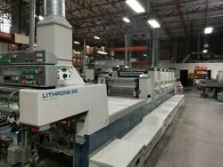 Komori Lithrone 628 SN-120 1994 (Price Reduction Must make room for new equip)