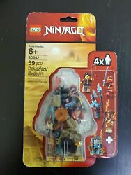 LEGO 40342 Ninjago Minifigure Pack w Clutch Powers New amp; Sealed free shipping $22.99