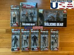 The Walking Dead Mcfarlane Series 4 And 5 Collection Complete Box Set U.s.a.
