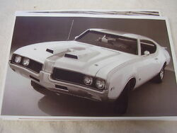 1969 Oldsmobile Cutlass Hurst Olds 11 X 17 Photo Picture