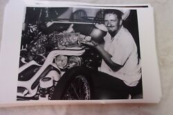 Ed Roth Mr Rat Fink And Model Car An Car 11 X 17 Photo Picture