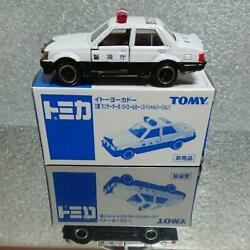 Non-sold Tomica Special Version Lancer Turbo Export Specificationpolice Car