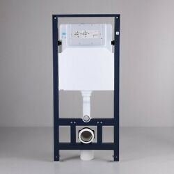 Wall-mount Toilet Tank And Carrier System 1.1/1.6 Gpf Dual Flush Toilet Tank Only