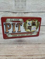 Classic Pit Card Game Corner The Stock Market Trading Collector's Tin Complete