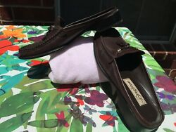 Brighton Women's Shoes Size 8.5 N Brown Leather Slide On Mules 'Janie'