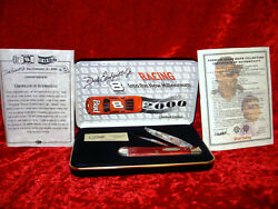 DALE EARNHARDT LIMITED EDITION CASE KNIFE NEW