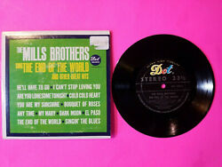 The Mills Brothers Sing The End Of The World Vinyl Jukebox Pressing 7 Swing