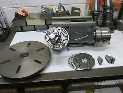 Deckel Dividing Head With Chuck And Faceplate - Milling Machine Attachment