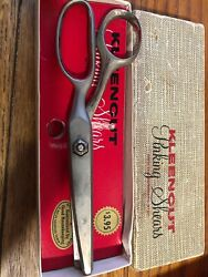 Vintage Kleencut Deluxe Pinking Shears With The Automatic Stop Usa 1960's